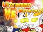 Ультрамен в битве против монстров