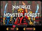 Воин Ниндзяго против лесных монстров