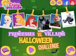 Хэллоуин челендж: Принцессы против злодеек