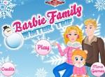 Зимнее путешествие Барби с семьей