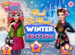 Зимняя мода принцесс Диснея